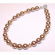 Kelly Originals - Bronze Pearl Bracelet by Kelly DuPrat