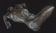 Nudes Sculptures - Bronze Torso by Michael Rutland