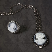 Brooch And Necklace Print by Joana Kruse
