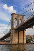 Brooklyn Bridge Prints - Brooklyn Bridge - Eastbound Print by Frank Mari