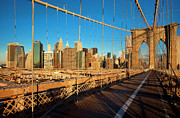 Brooklyn Bridge Art - Brooklyn Bridge by Brian Jannsen