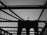 Brooklyn Bridge Prints - Brooklyn Bridge Brooklyn Bound Print by Christopher Kirby