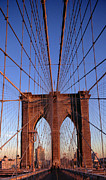 Big Skies Prints - Brooklyn Bridge Print by Brooklyn Bridge