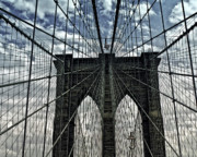 Landmark Photo Originals - Brooklyn Bridge by Francis Dangelo