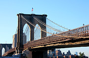 Brooklyn Bridge Prints - Brooklyn Bridge Print by Kristin Elmquist