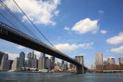 Island Prints - Brooklyn Bridge - New York City Skyline Print by Frank Romeo