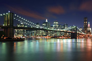 Brooklyn Bridge Posters - Brooklyn Bridge Poster by Proframe Photography