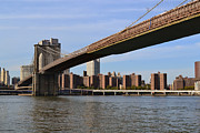 Brooklyn Bridge Prints - Brooklyn Bridge1 Print by ZawHaus Photography