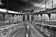 Brooklyn Bridge Prints - Brooklyn Brige Print by Andrew Dinh