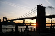Brooklynbridge Prints - Brooklyn Morning  Print by Marcus Malara