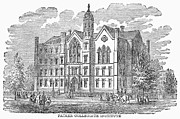 1845 Prints - Brooklyn: Prep School Print by Granger