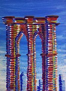 Brooklyn Bridge Painting Originals - Brooklyn by Ronald Greer
