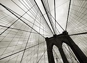 Aurica Voss Metal Prints - Brooklyn Sky Metal Print by Aurica Voss