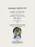 Glenn Bautista - Brooks Diploma - Glenn 1972