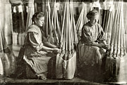 Evansville Photo Metal Prints - Broom Manufacture, 1908 Metal Print by Granger