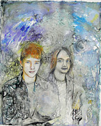 Anne-D Mejaki - Art About You productions - Brothers commission...