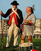 Patriots Digital Art Prints - Brothers in Arms 1776 Print by Diane E Berry