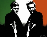 Ireland Painting Framed Prints - Brothers Killers and Saints Framed Print by Dale Loos Jr