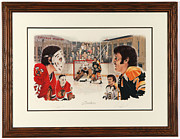 Hockey Mixed Media - Brothers Limited Edition by Daniel Parry