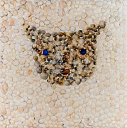 Cats Reliefs - Brown Cat by Anamaria Stanescu