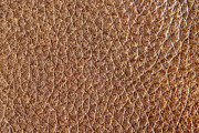 Brown Leather Grain Print by Blink Images