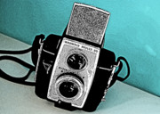 Brownie Prints - Brownie Reflex 20 Camera Print by Charlette Miller
