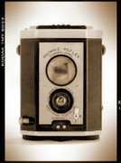 Film Camera Prints - Brownie Reflex Print by Mike McGlothlen
