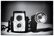 Photography Hobby Posters - Brownie Starflex Camera Poster by Jarrod Erbe
