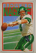 New York Jets Painting Posters - Browning Nagle Poster by Cliff Spohn