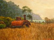 Terry Perham Art - Bruce Bay South Westland by Terry Perham
