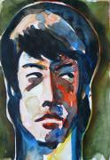Bruce Lee Painting Originals - Bruce Lee - A Portrait by Abin Raj