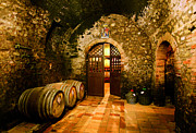 Cellar Digital Art Prints - Brunello Vecchio Print by John Galbo