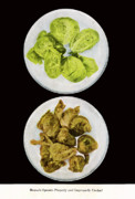 Brussel Sprouts Right And Wrong Print by John Scariano