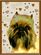 Brussels Griffen Print by One Rude Dawg Orcutt