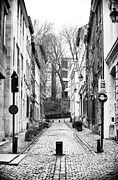 European Union Prints - Brussels Street Scene Print by John Rizzuto