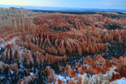Hammer Art - Bryce Canyon Amphitheater at dusk by Pierre Leclerc