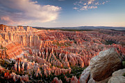 Canyon Posters - Bryce Canyon Sunrise Poster by Ben Neumann