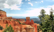 Contemporary Western Fine Art Framed Prints - BRYCE CANYON  Utah western vista scene picture decor  Framed Print by John Samsen