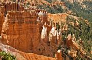 Hoodoos Framed Prints - Bryce Canyon Variations Framed Print by Allan Einhorn