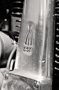 Antique Harley Davidson Photos - BSA Detail by Marley Holman