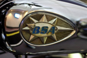 Bsa Photos - BSA Logo by Jeff Porter