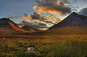 Buachaille Etive Mor Framed Prints - Buachaille Etive Mor before Sunset  Framed Print by Jim Dohms