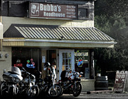 Bubba Metal Prints - Bubbas Roadhouse Metal Print by Sandy Rubini
