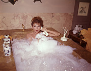 Domestic Bathroom Photos - Bubble Bath by Fox Photos
