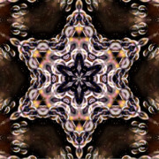 Kaleidoscope Art - Bubble Kaleidoscope by Laura Mountainspring