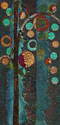 Abstract Realism Painting Acrylic Prints - Bubble Tree - spc02bt05 - Right Acrylic Print by Variance Collections