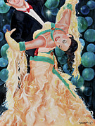 Ballroom Paintings - Bubbles by Paint The Floor