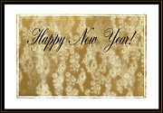 Champagne Metal Prints - Bubbly New Year Metal Print by Kristin Elmquist