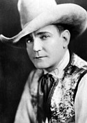 Cowboy Hat Photos - Buck Jones, Ca. 1930 by Everett