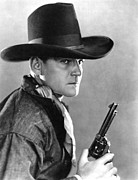 Cowboy Hat Photos - Buck Jones, Ca. 1930s by Everett